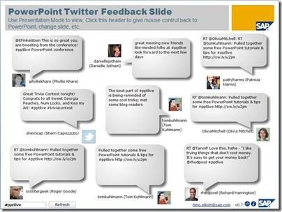 SAP Twitter feedback2