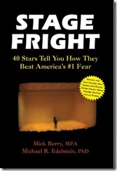 stage fright bookcover